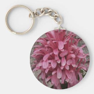 Brazilian plume flower keychain