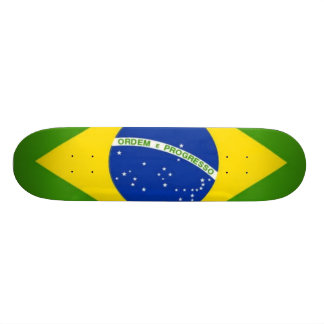 Brazilian Pride 21.3 Cm Mini Skateboard Deck