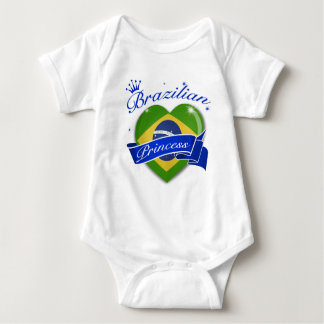 Brazilian Princess Baby Bodysuit