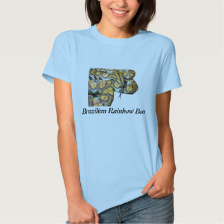 Brazilian Rainbow Boa Ladies Baby Doll (Fitted) Tees