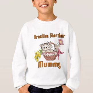Brazilian Shorthair Cat Mom Sweatshirt