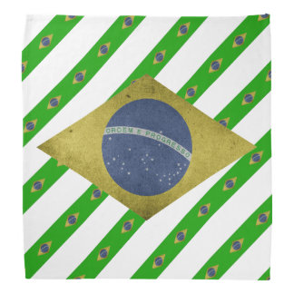 Brazilian stripes flag bandana