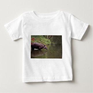 Brazilian Tapir (Tapirus terrestris) Baby T-Shirt