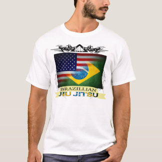 Brazillian Jiu Jitsu Flags T-Shirt