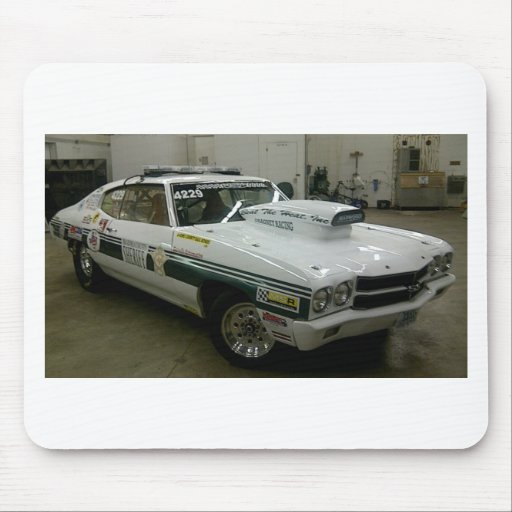 Brazoria County Sheriff's Race Car Mouse Pads