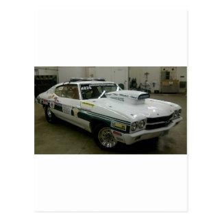 Brazoria County Sheriff's Race Car Post Cards