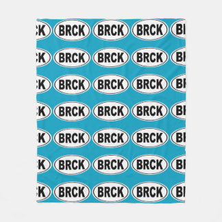 BRCK Breckenridge Colorado Fleece Blanket
