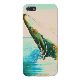 Breaching Humpback Whale Iphone Case Cover For iPhone 5/5S