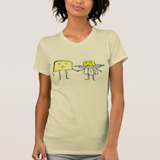 Bread and Butter Vintage Cooking Art Tshirt