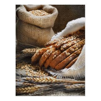 Bread And Wheat Ears Postcard