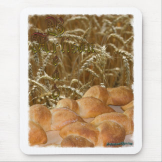 Bread Artisan Mouse Pad