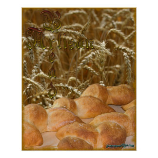 Bread Artisan Poster