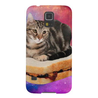 bread cat  - space cat - cats in space cases for galaxy s5