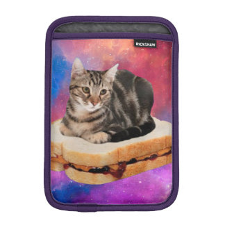 bread cat  - space cat - cats in space iPad mini sleeve
