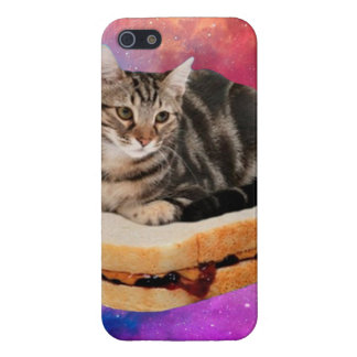 bread cat  - space cat - cats in space iPhone 5/5S cases
