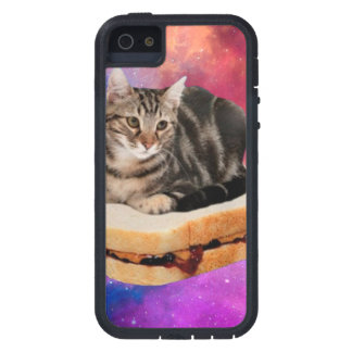 bread cat  - space cat - cats in space iPhone 5 case