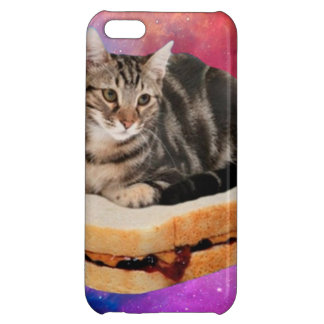 bread cat  - space cat - cats in space iPhone 5C cover