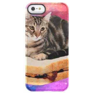 bread cat  - space cat - cats in space permafrost® iPhone SE/5/5s case