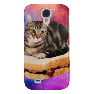 bread cat  - space cat - cats in space samsung galaxy s4 cover