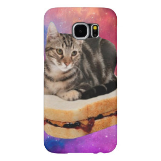 bread cat  - space cat - cats in space samsung galaxy s6 cases