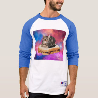 bread cat  - space cat - cats in space T-Shirt