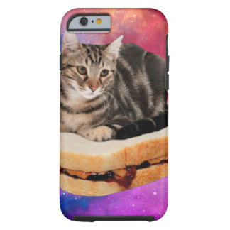 bread cat  - space cat - cats in space tough iPhone 6 case