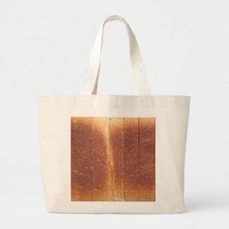 Bread crust large tote bag
