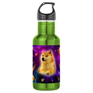 bread  - doge - shibe - space - wow doge 532 ml water bottle