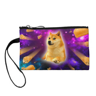 bread  - doge - shibe - space - wow doge coin purse