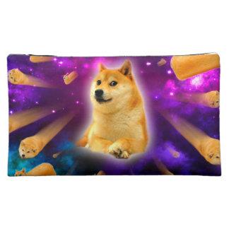 bread  - doge - shibe - space - wow doge cosmetic bag