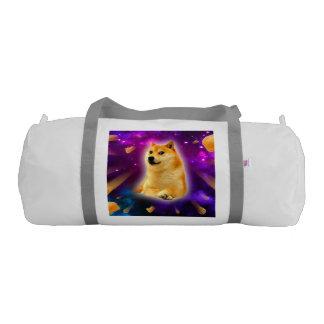 bread  - doge - shibe - space - wow doge gym bag