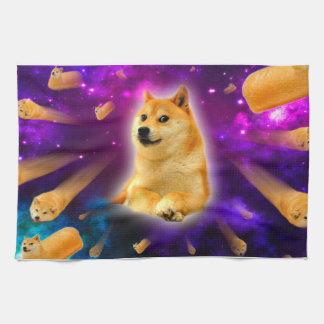 bread  - doge - shibe - space - wow doge hand towel