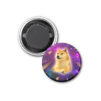 bread  - doge - shibe - space - wow doge magnet