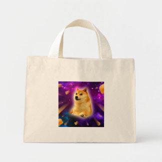 bread  - doge - shibe - space - wow doge mini tote bag