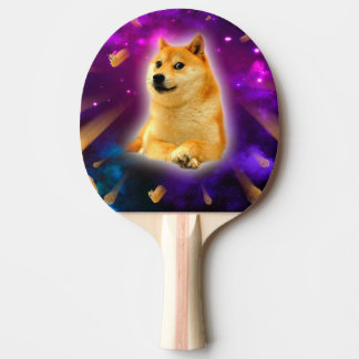 bread  - doge - shibe - space - wow doge ping pong paddle