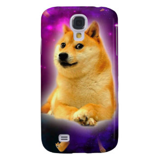 bread  - doge - shibe - space - wow doge samsung galaxy s4 cover