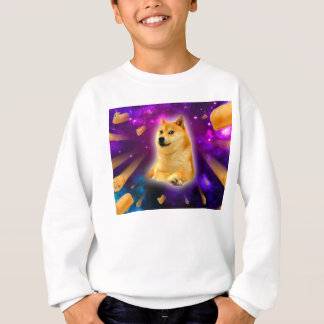 bread  - doge - shibe - space - wow doge sweatshirt