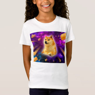bread  - doge - shibe - space - wow doge T-Shirt