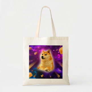 bread  - doge - shibe - space - wow doge tote bag