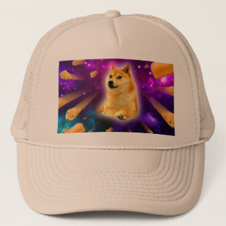 bread  - doge - shibe - space - wow doge trucker hat