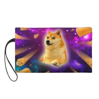 bread  - doge - shibe - space - wow doge wristlet