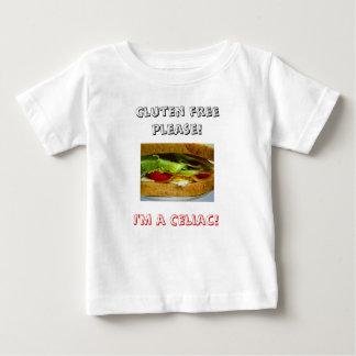 Bread, Gluten free please!, I'm a Celiac! Baby T-Shirt