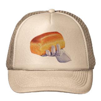 Bread Loaf Baking Art Retro Vintage Kitsch Trucker Hat