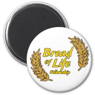 Bread Of Life Fellowship Fridge Magnet