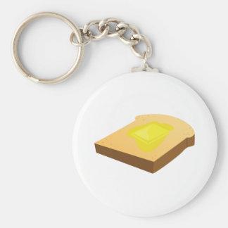 Bread Slice Keychains