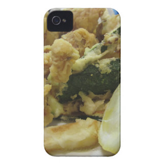 Breaded and fried crunchy vegetables with lemon Case-Mate iPhone 4 case