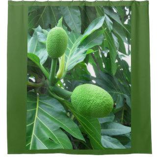 Breadfruit Shower Curtain