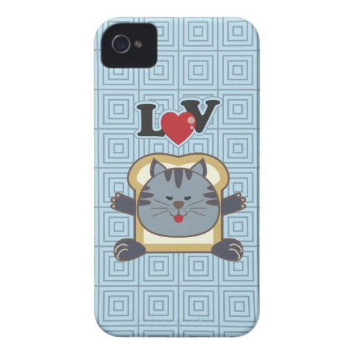 Breading Cat Blue Blackberry Case