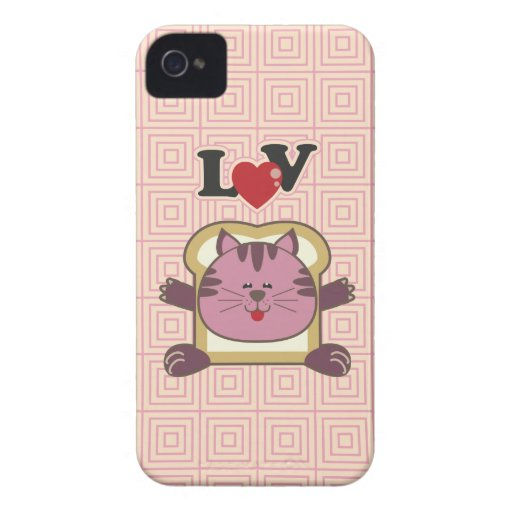 Breading Cat Pink Blackberry Case