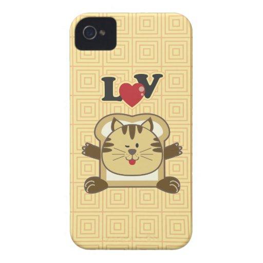 Breading Cat Yellow Blackberry Case